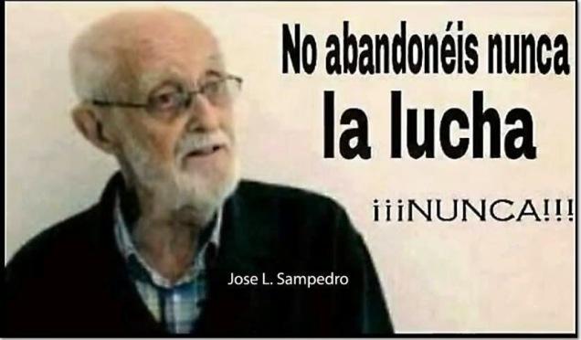 abandonar lucha Sampedro
