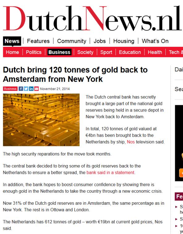 captura dutch news