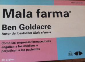 Libro Mala Farma: Malas prácticas de empresas farmacéuticas (Resumen)