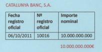 CATALUNYA BANK 001