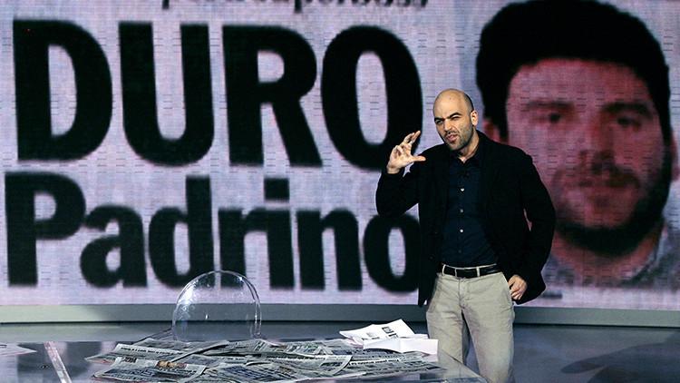 El periodista italiano Roberto Saviano, el autor de 'Zero Zero Zero'
