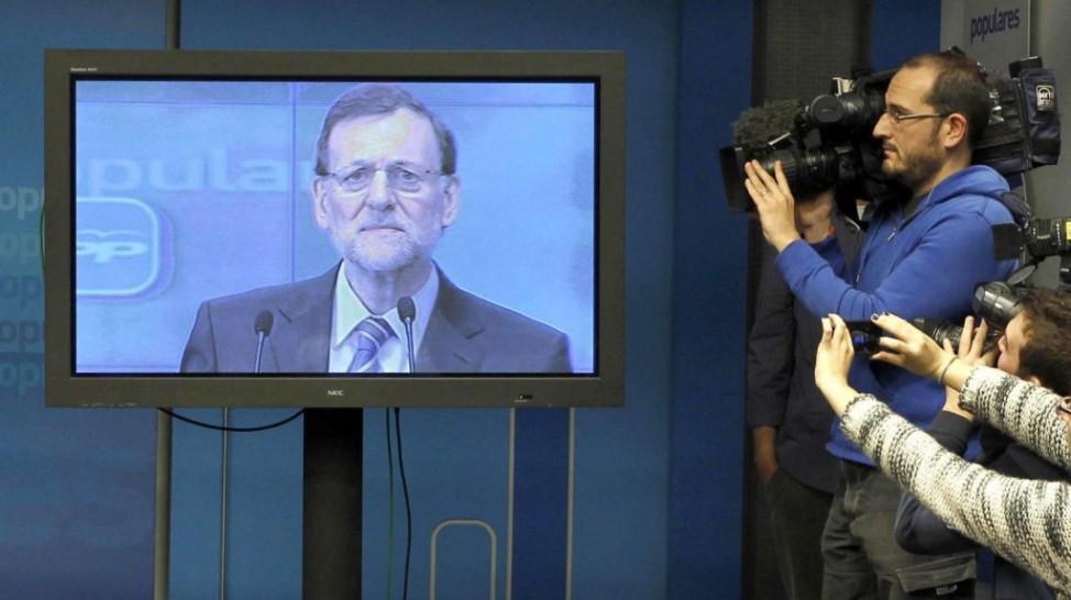 El-plasma-de-Mariano-Rajoy