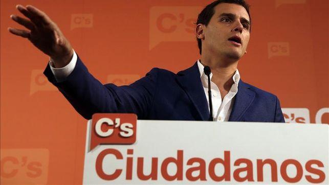 """Rivera perfila un pacto en Madrid, con las mismas """"condiciones"""" que en Andalucía"""