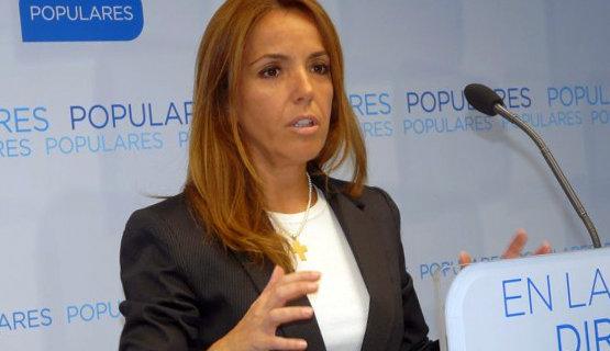 Cristina Rodríguez de Tembleque, líder del PP de Herencia   Foto Archivo