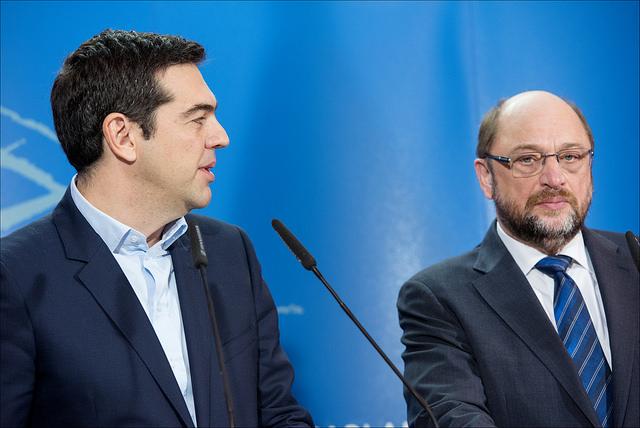 Las imposiciones y el chantaje del BCE a Grecia