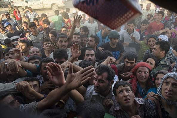 Syruan Refugeesnorthern iraq