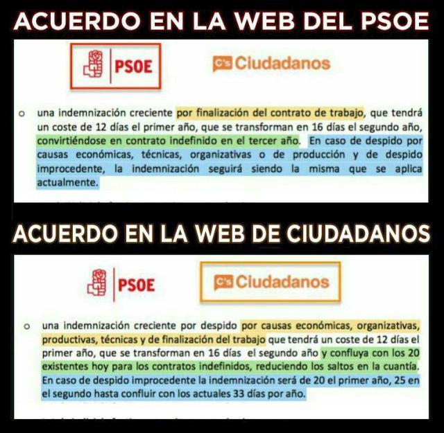 Pacto PSOECs despido