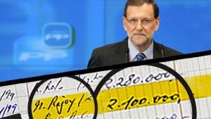 El apunte de Bárcenas con la cantidad pagada a Rajoy