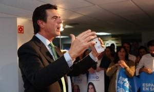Soria denuncia al que diga que el PP manipula la Justicia