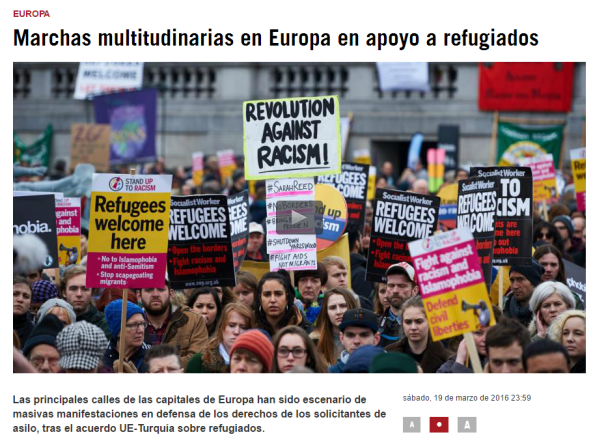 marchas europa