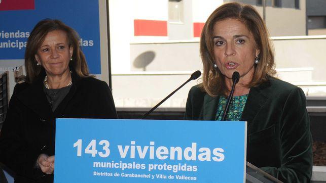 La exalcaldesa de Madrid, Ana Botella.