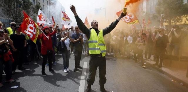 francia huelga