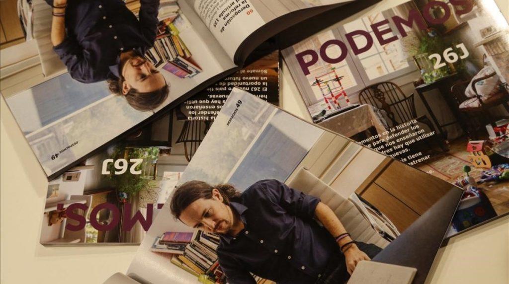 MADRID 08 06 2016 Politica Podemos presenta programa su programa electoral FOTO de AGUSTIN CATALAN
