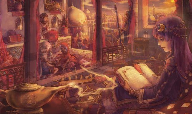 'Las mil y una noches', uno de los pocos cuentos árabes que se han adaptado al género infantil