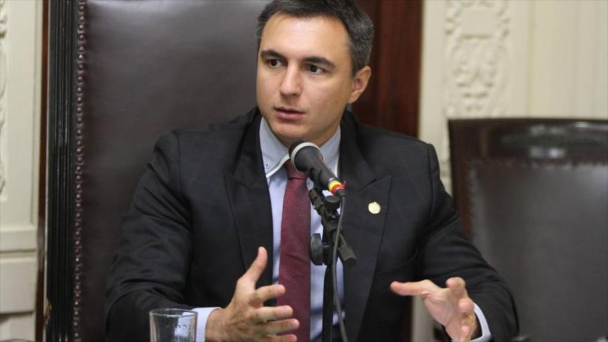 El diputado Pedro Fernandes, del Partido del Movimiento Democrático Brasileño (PMDB).