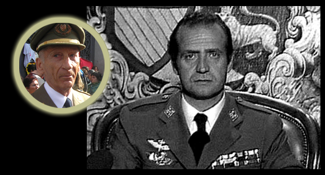 El coronel Martínez Inglés denuncia al rey Juan Carlos de Borbón por el 23F