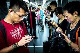 smartphone subway hongkong png